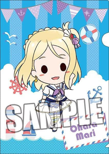 "[New] Love Live! Sunshine !! Set of 2 clear files ""Mari Ohara"" Plush Toy Ver. / Broccoli Scheduled to arrive: Around June 2017"