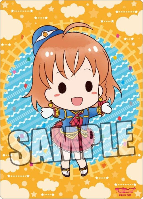 "[New] Love Live! Sunshine !! B5 Clear Shitajiki Part.6 ""Chika Takami"" / Broccoli Release Date: May 2018"