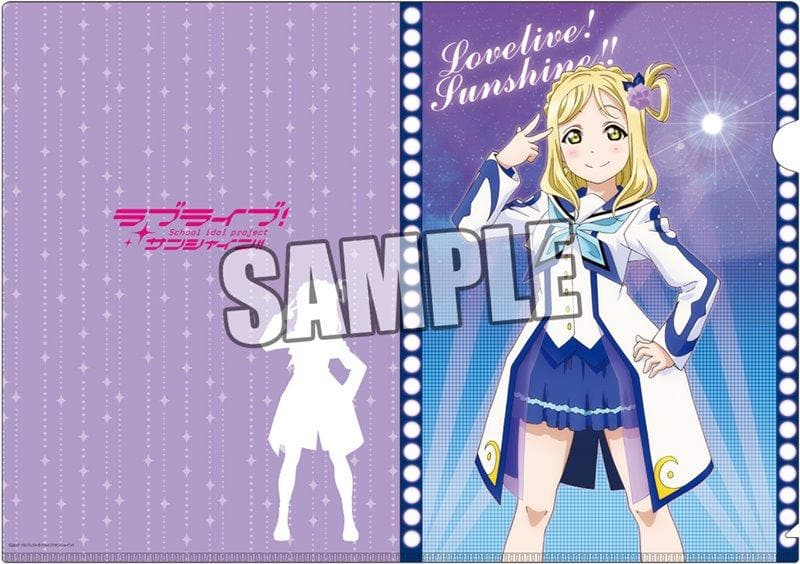 "[New] Love Live! Sunshine !! Clear file set of 2 ""Mari Ohara"" playing in the water Ver. / Broccoli Release date: May 2018"
