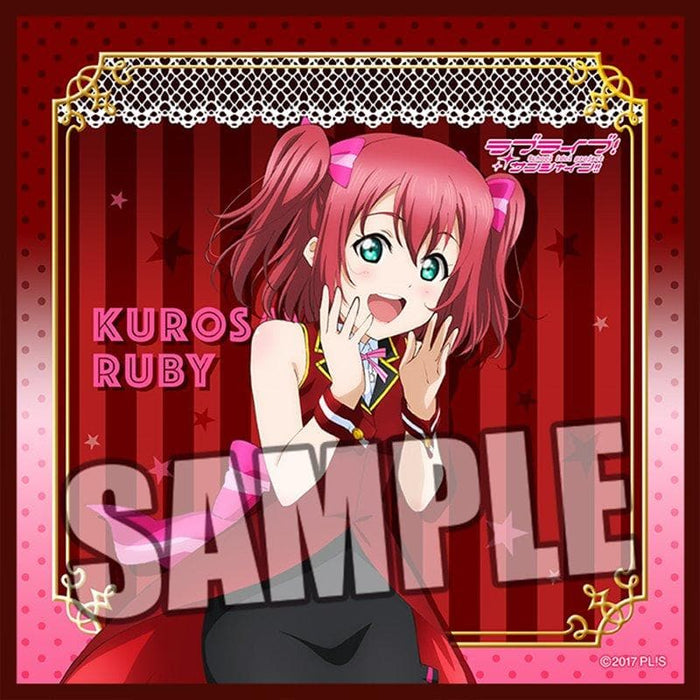 "[New] Love Live! Sunshine !! Microfiber Mini Towel ""Ruby Kurosawa"" Magician Ver. / Broccoli Release Date: Around January 2019"