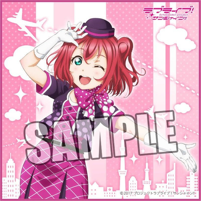 "[New] Love Live! Sunshine !! Microfiber Mini Towel ""Ruby Kurosawa"" Part.12 / Broccoli Release Date: Around December 2019"