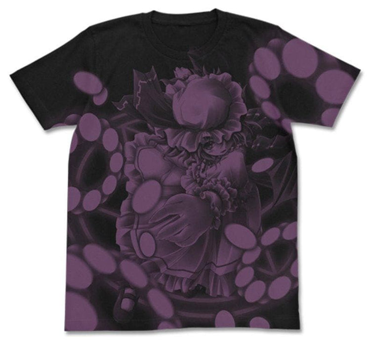 [New] Touhou Project Remilia Scarlet T-shirt Touhou Chaos Ver./BLACK-L (Resale) / 2D Cospa Release Date: Around November 2020