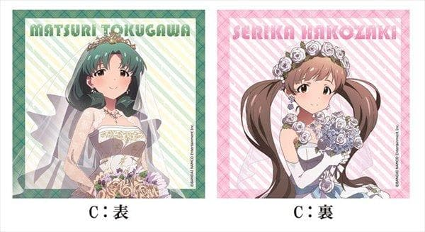 [New] Idolmaster Million Live! Double-sided cushion cover vol.1 C / Chugai Mining Co., Ltd. Scheduled to arrive: Around September 2017