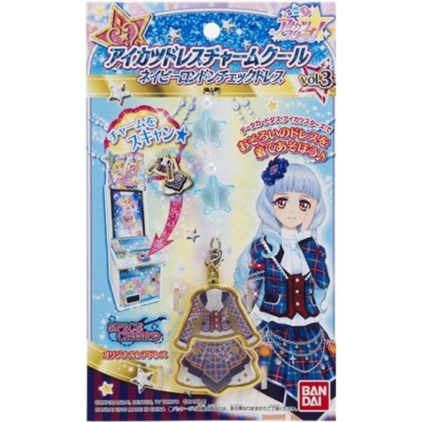 [New] Aikatsu Dress Charm Cool Navy London Check Dress / Bandai Scheduled to arrive: Around November 2016