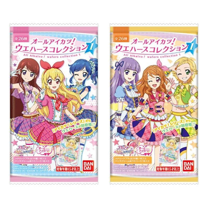 [New] All Aikatsu! Wafer Collection 1 1BOX / Bandai Release Date: Around October 2019
