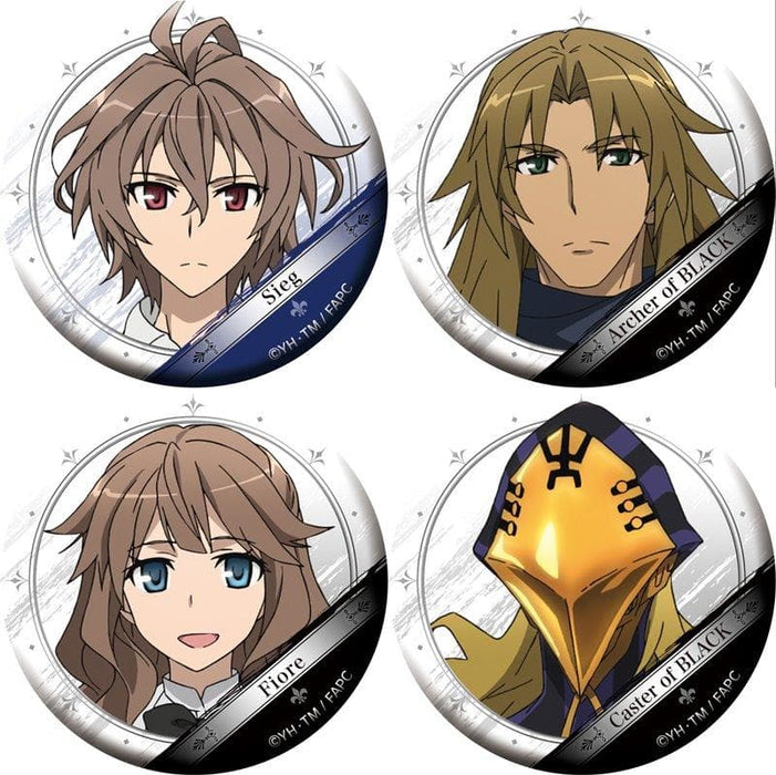 [New] Fate / Apocrypha Character Badge Collection Vol.2 1BOX / Movic Scheduled to arrive: Around November 2017