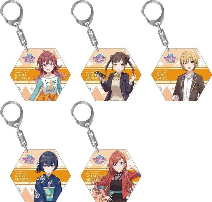 [New] Idolmaster Shiny Colors Acrylic Keychain Collection / After School Climax Girls 1BOX / Movic Release Date: Around September 2018