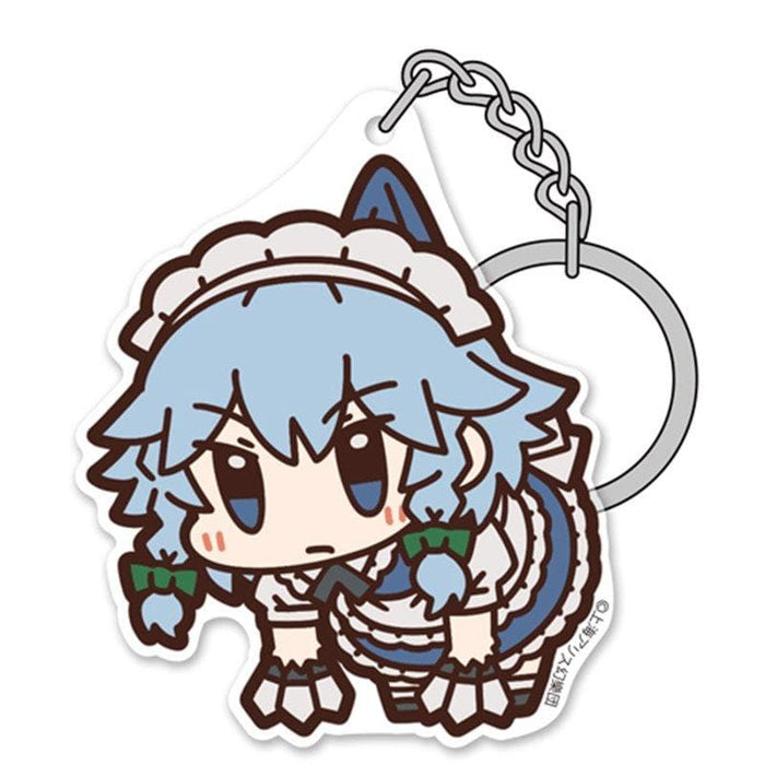 [New] Touhou Project Sakuya Izayoi Acrylic Tsumamare Keychain (Resale) / 2D Cospa Release Date: Around December 2020