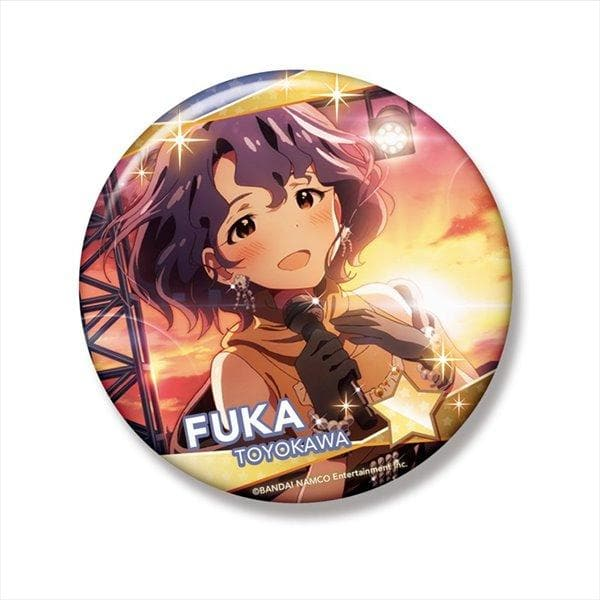 [New] Idol Master Million Live! Big Can Badge Fuka Toyokawa / Phat! Scheduled to arrive: Around September 2016
