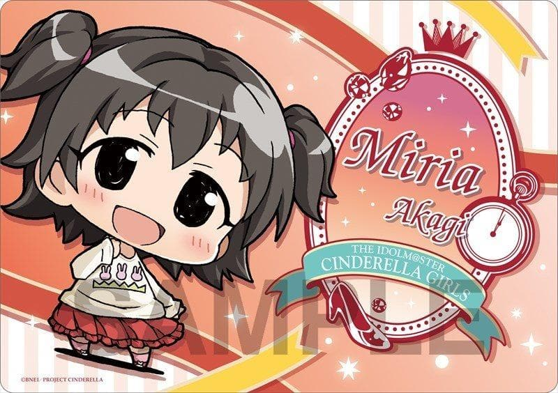 [New] Minicchu Idolmaster Cinderella Girls Mouse Pad Miria Akagi Cinderella Project ver. / Phat! Release Date: 2015-05-31