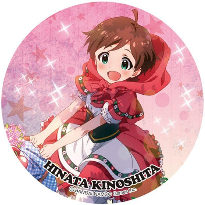 "[New] ""Idol Master Million Live! ] BIG Can Badge 3rd Hinata Kinoshita / Aquamarine Release Date: 2015-02-28"