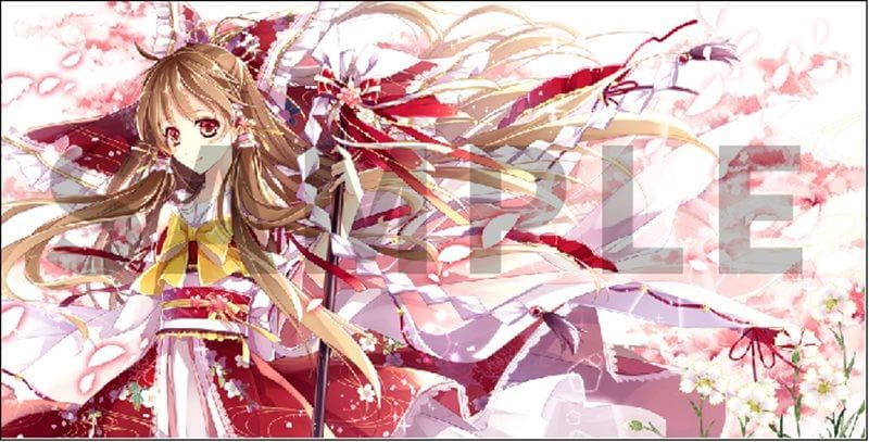 [New] Touhou Project General-Purpose Playmat Reimu Hakurei Ver.2 / Animac Scheduled to arrive: Around August 2015