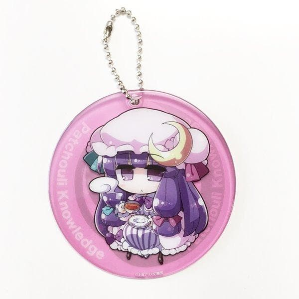 [New] Touhou Project Coaster Keychain Patchouli Knowledge / GUN-ZO Scheduled to arrive: Around August 2017