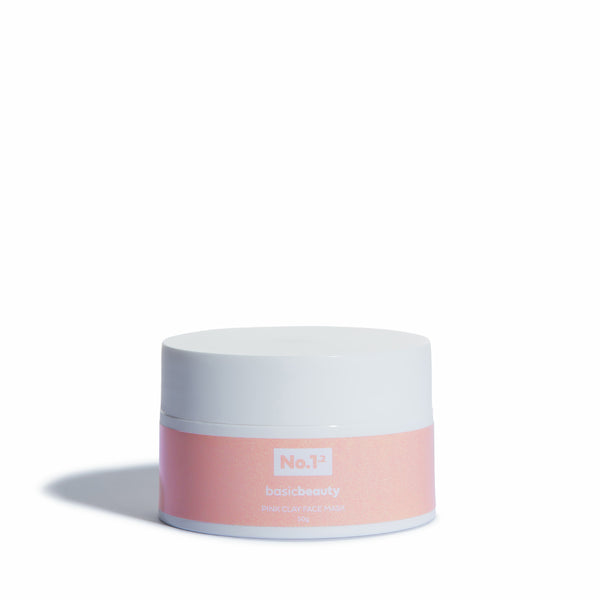 Pink Clay Face Mask - Basic Boost