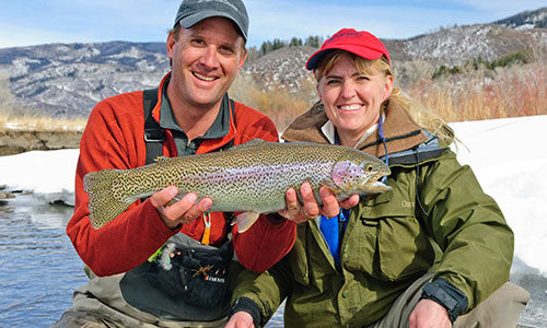 Private Fly Fishing Water Yampa River Ranch