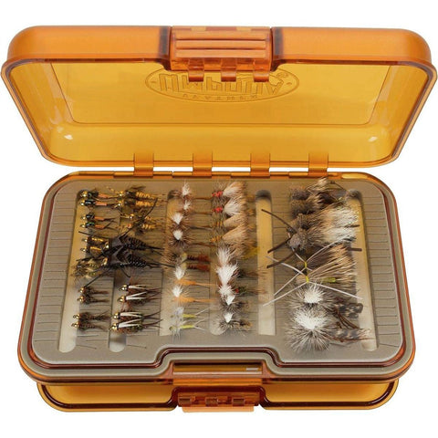 Premium Rockies Trout Fly Selection + UPG Fly Box