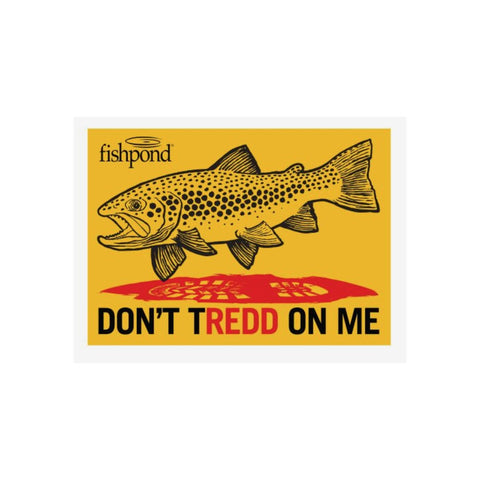 Fishpond Don't Tredd On Me Sticker