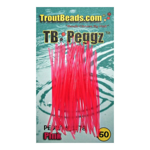 Troutbeads Peggz Rubber - 50ct