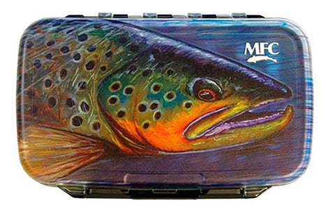 MFC Waterproof Fly Box - Hallock's Brown - Medium
