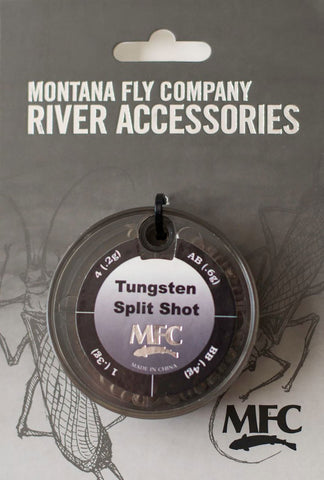 Montana Fly Tungsten Split Shot