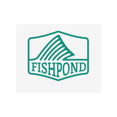 Fishpond Dorsal Fin Sticker - 5.5""