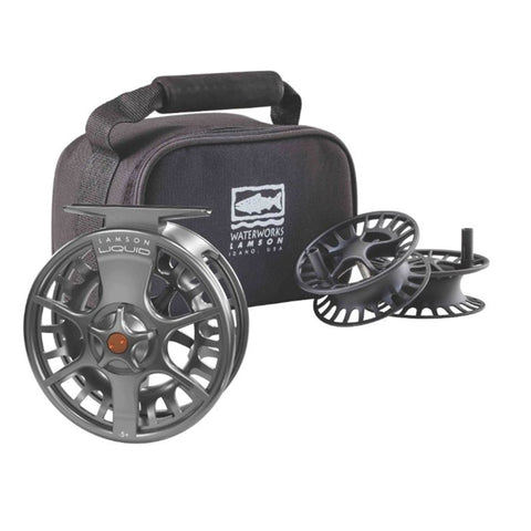 Lamson Liquid - 5+ Fly Reel - 3 pack