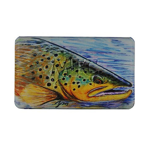 MFC Midge Flyweight Fly Box - Hallock's Brown Trou