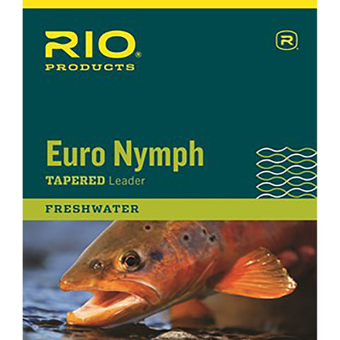 Rio Euro Nymph Leader 11ft. 0 X