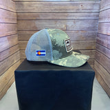 Straightline Trout Flag Cap