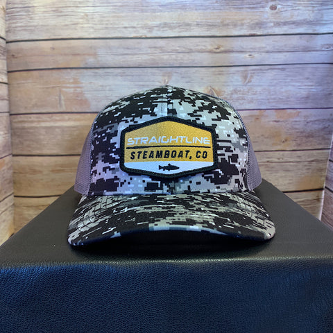 Straightline Steamboat CO Logo Hat