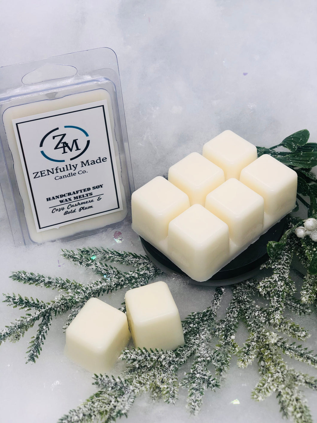 Cozy Cashmere & Bold Plum Wax Melts - ZENfully Made Candle Co.