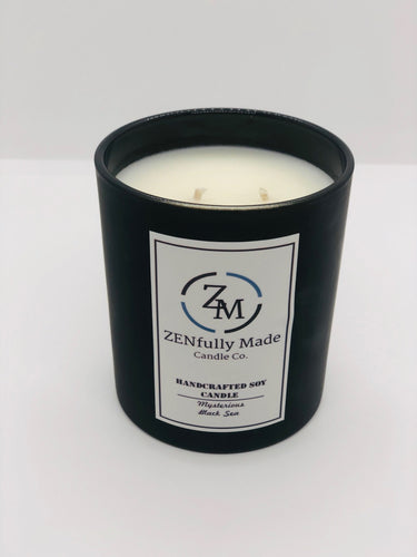 Mysterious Black Sea Candle - ZENfully Made Candle Co.