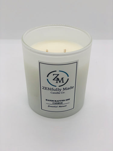 Essential Retreat Aromatherapy Candle - ZENfully Made Candle Co.