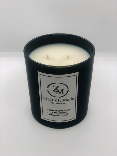 Midnight Musk Candle - ZENfully Made Candle Co.