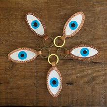 Load image into Gallery viewer, EVIL EYE KEY RING