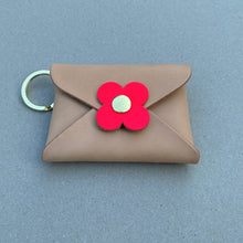 Load image into Gallery viewer, FLOWER KEY RING POUCH