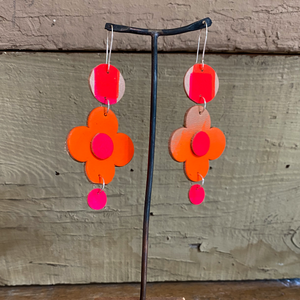 """I AM NOT A WALLFLOWER"" EARRINGS"