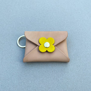 FLOWER KEY RING POUCH
