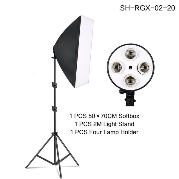 Photography Light Stand with Carry Bag