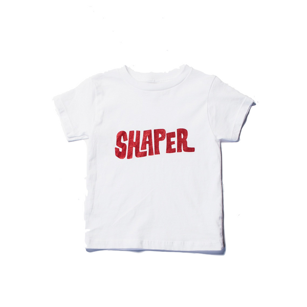 Shaper - Kids Club Tee (White)