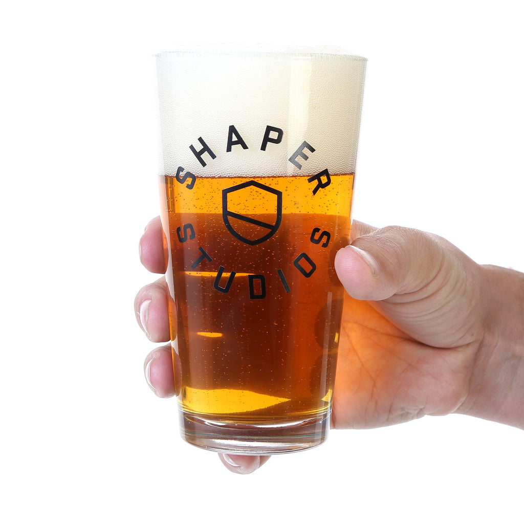 Shaper - Pint Glass