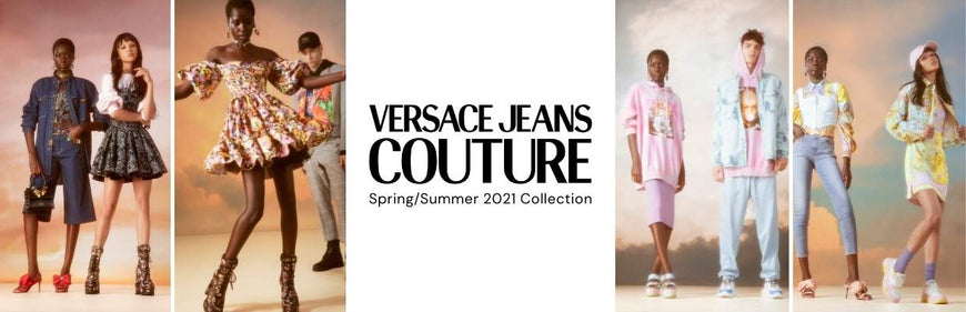 Escape with Versace Jeans Couture Spring/Summer 2021
