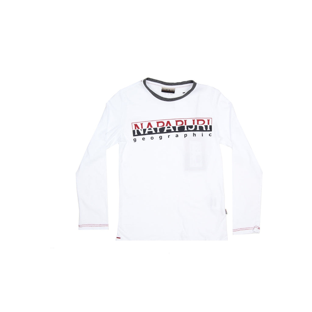 Napapijri Junior Logo White Top