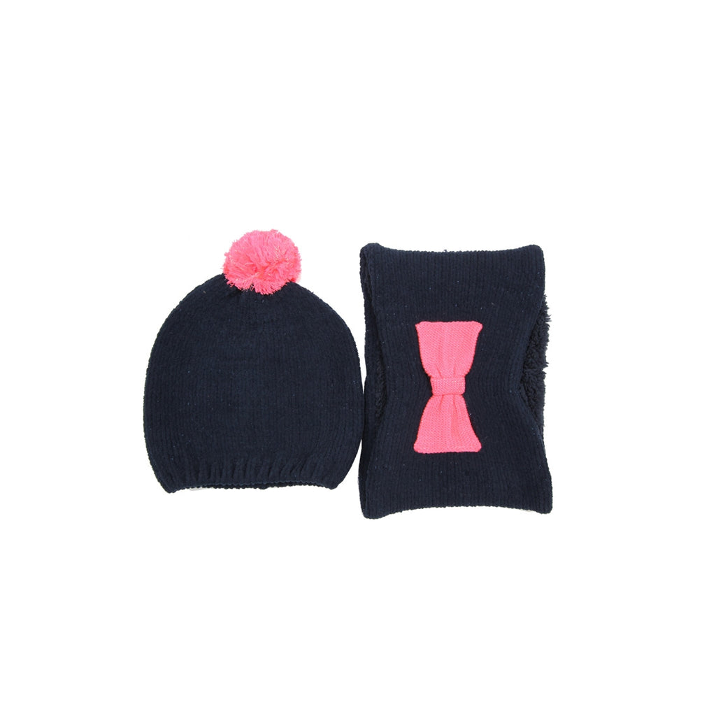 Billieblush Navy Hat Set