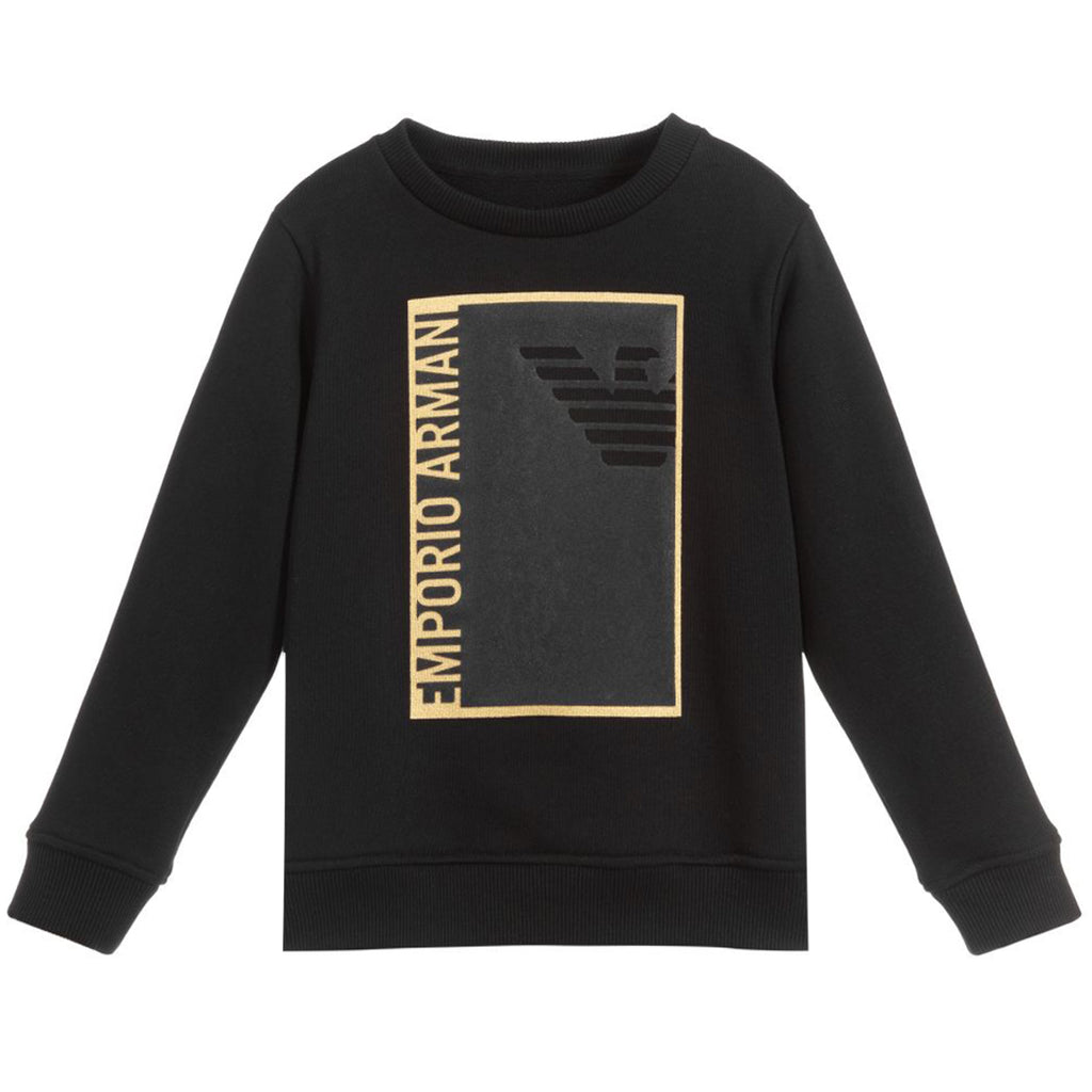 Armani Junior Chest Logo Sweatshirt