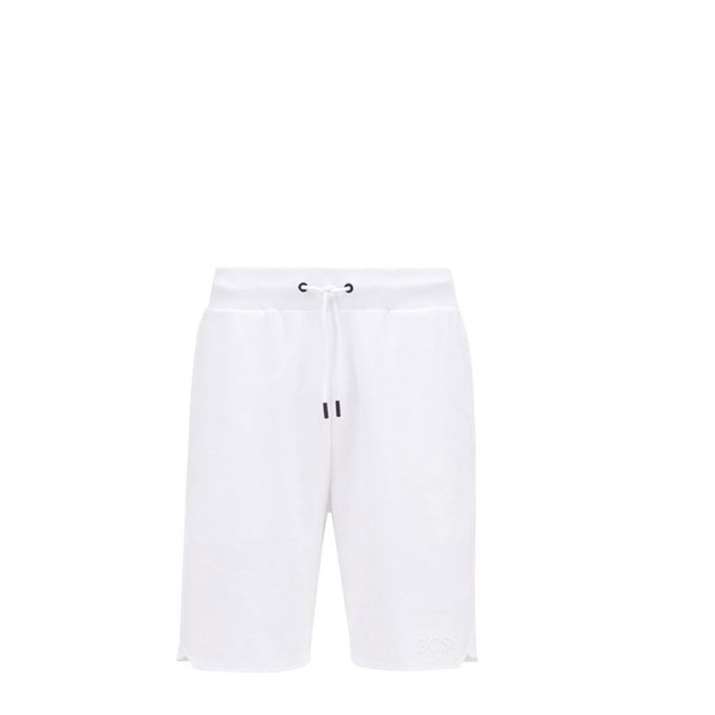 Hugo Boss White Loungewear Shorts