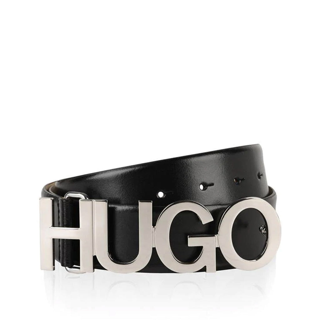 Hugo - Boss Black Silver Buckle Belt