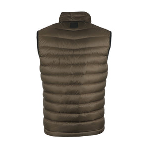 Boss Khaki Quilted Water Repellent Gilet