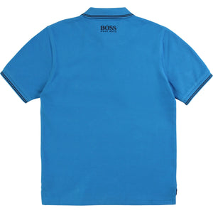 Hugo Boss Kids Logo Patch Polo Shirt