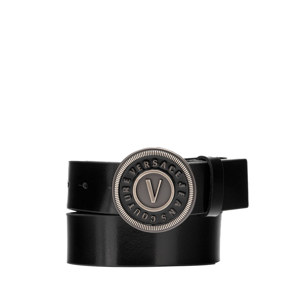 Versace Jeans Couture Womens Leather Logo Belt